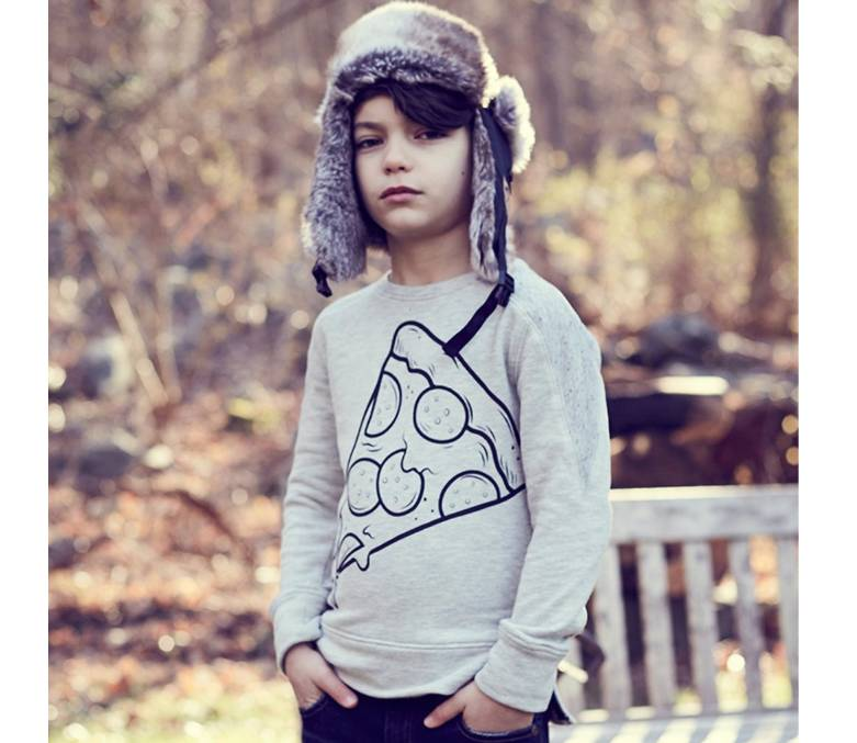 Appaman Contra Sweatshirt - Pizza Slice