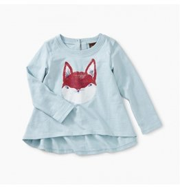 Tea Collection Friendly Fox Baby Tee