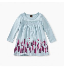 Tea Collection Sterling Blue Smocked Baby Dress