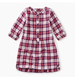 Tea Collection Flannel Shirtdress - Classic Plaid
