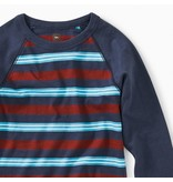 Tea Collection Striped Raglan Tee