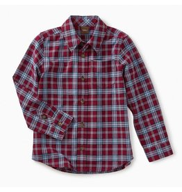 Tea Collection Lakeshore Plaid Button Shirt