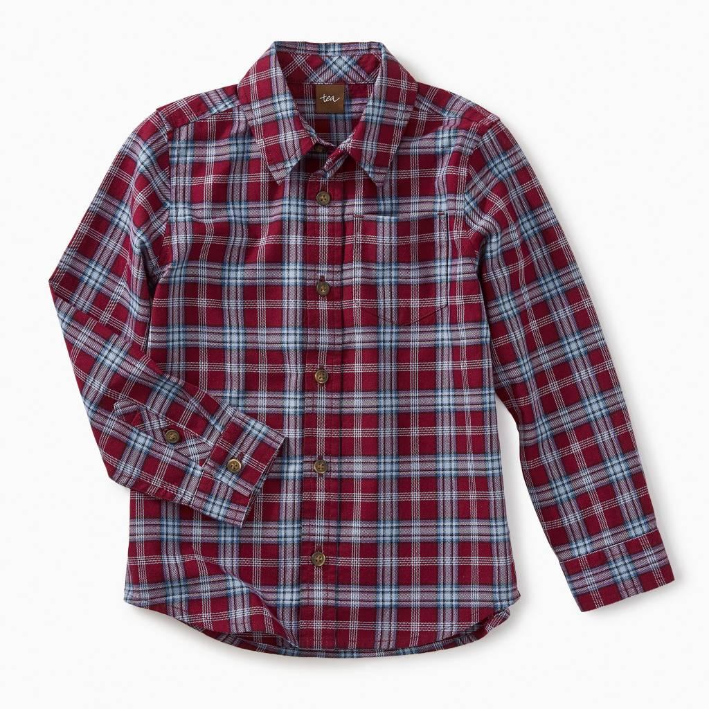 Tea Collection Lakeshore Plaid Button Shirt