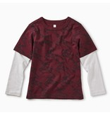 Tea Collection Scandi Stag Layered Tee