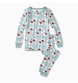 Tea Collection Llama Stroll Pattern Pajamas