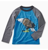 Tea Collection Eagle Eyed Raglan Tee