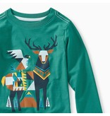 Tea Collection Scandi Stag Graphic Tee