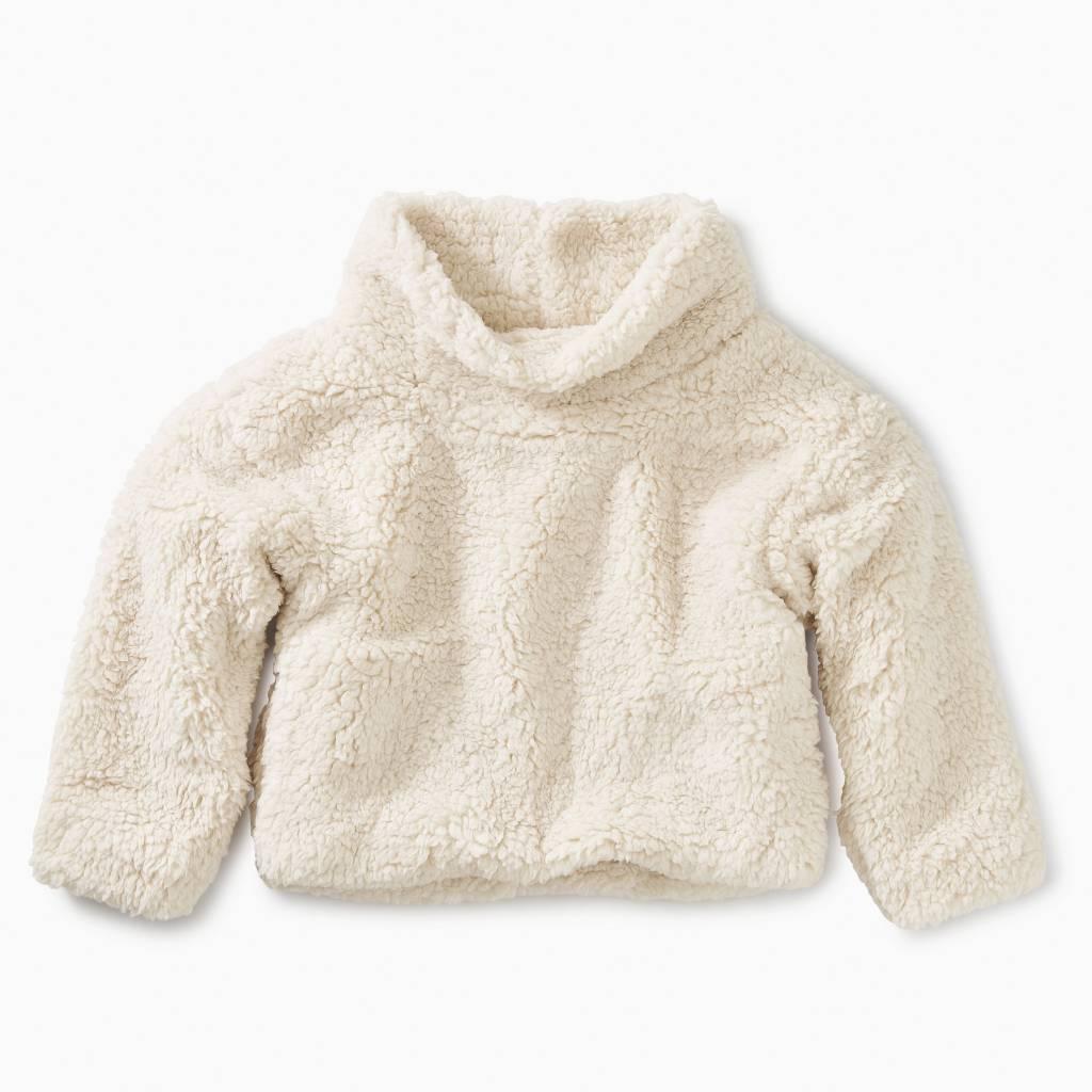 Tea Collection Sherpa Fleece Pullover