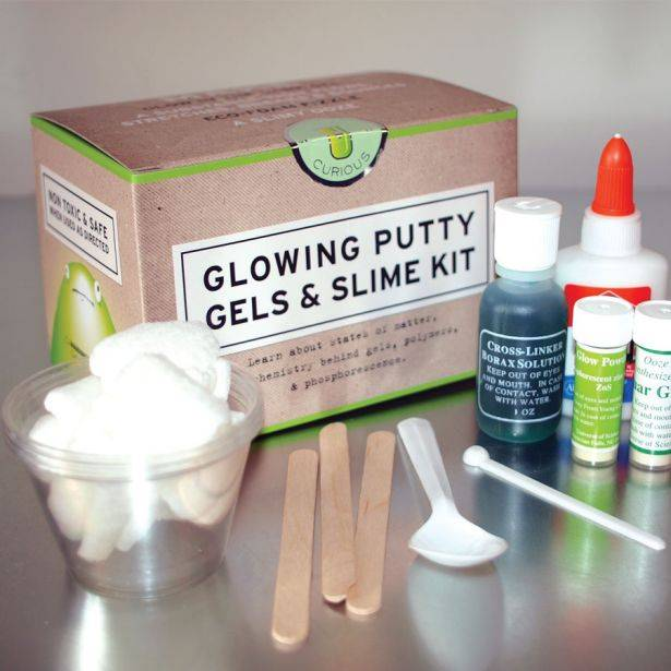 Copernicus Glowing Putty, Gels & Slime Kit
