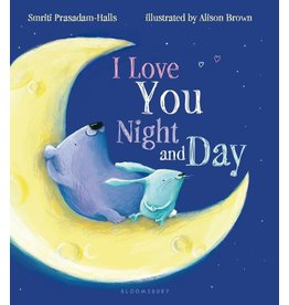 Macmillan I Love You Day and Night Board Book