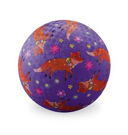"Crocodile Creek 5"" Playground Ball - Foxes"