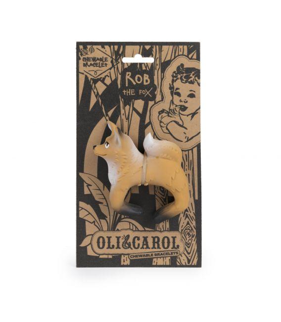 Oli & Carol Rob the Fox - Bracelet Teether