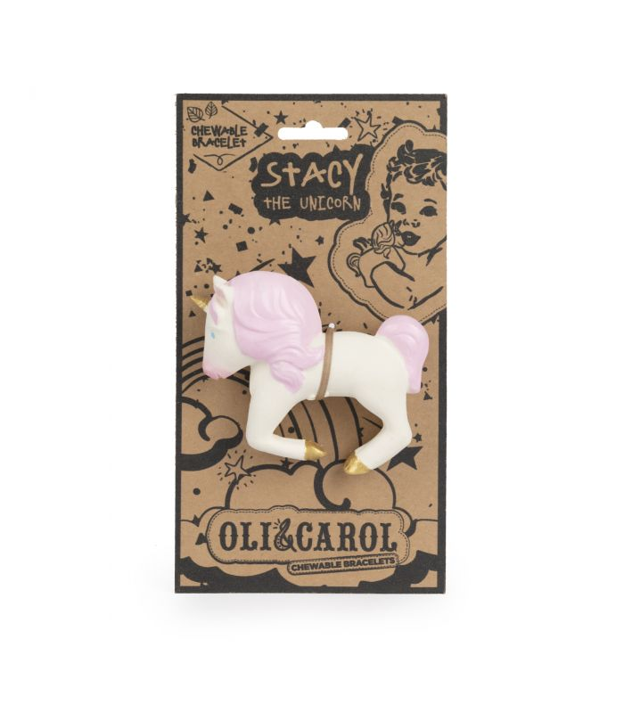 Oli & Carol Stacy the Unicorn - Bracelet teether