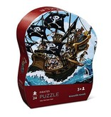 Crocodile Creek Pirates Mini Puzzle 12 pc