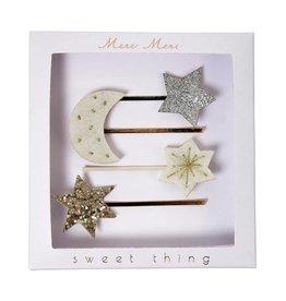 Meri Meri Moon + Star Hair Slides