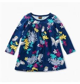 Tea Collection Blooms Smocked Baby Dress