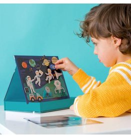 Wild & Wolf Outer Space Magnetic Play Scene