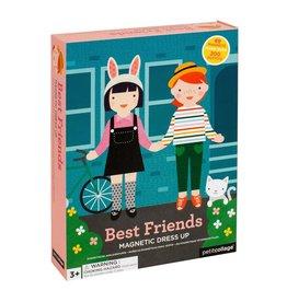 Petit Collage Magnetic Dress Up- Best Friends