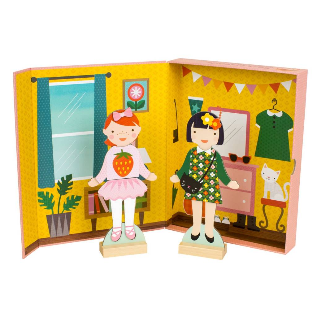 Petit Collage Magnetic Dress Up- Best Friends