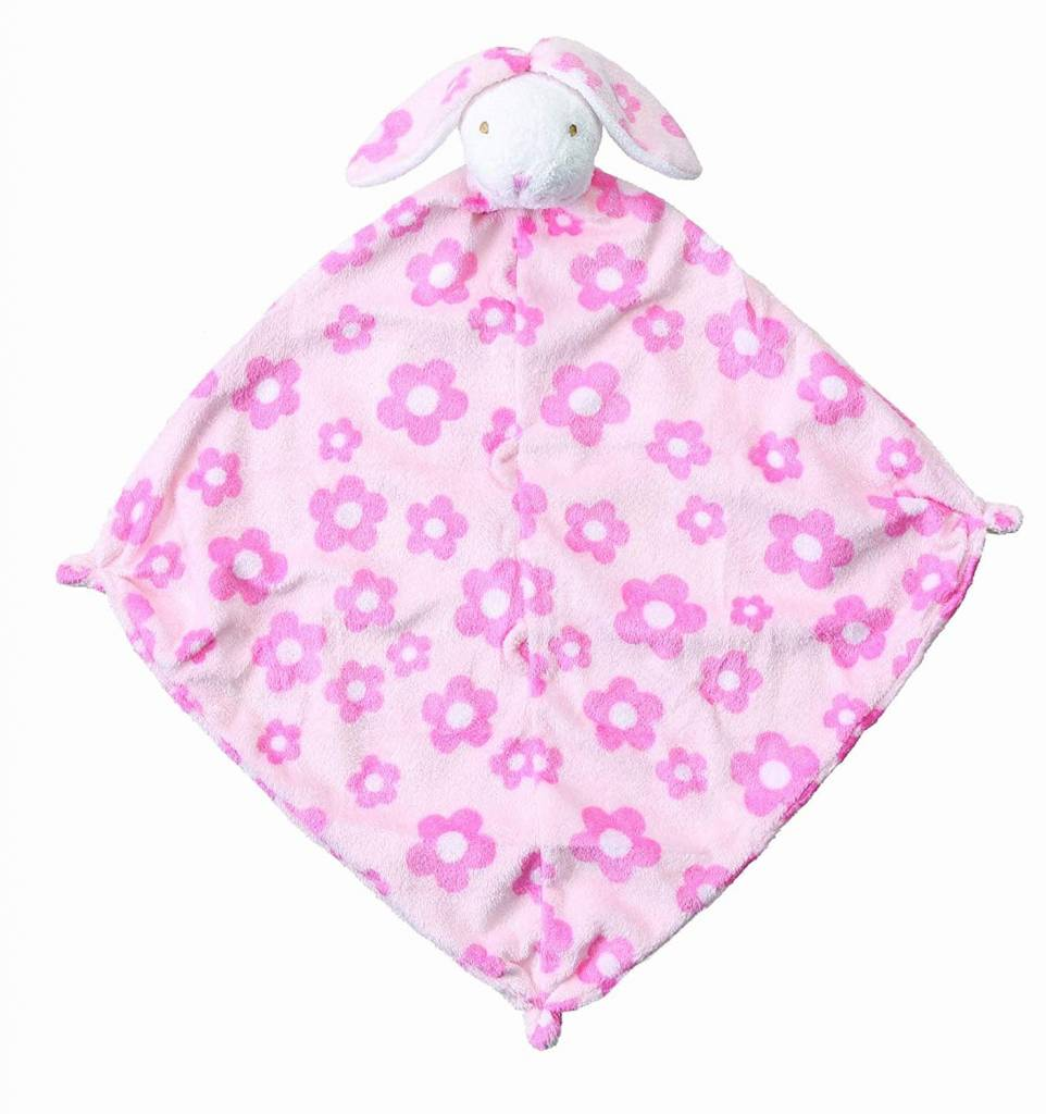 Angel Dear Flower Bunny Blankie