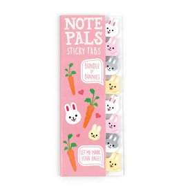 International Arrivals Note Pals Sticky Tabs- Bunnies