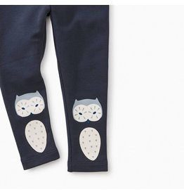 Tea Collection Wise Owl Cozy Baby Leggings