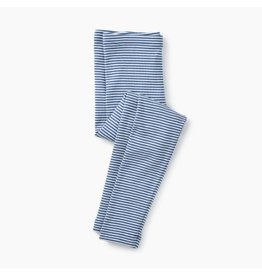 Tea Collection Cobalt Striped Leggings