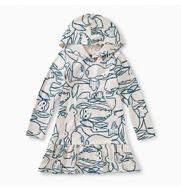 Tea Collection Hoodie Dress