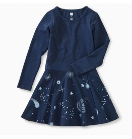 Tea Collection Starry Skies Skirted Dress