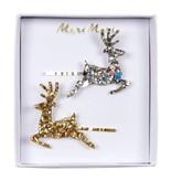 Meri Meri Reindeer Hair Slides