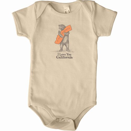 SF Mercantile Bear Hug Onesie