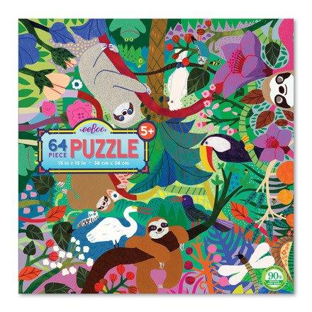 eeBoo Sloths at Play 64 pc Puzzle