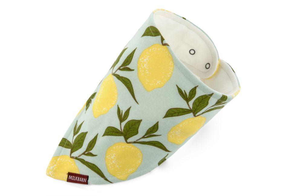 MilkBarn Kerchief Bib - Lemon