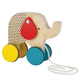 Wild & Wolf Elephant Pull Toy