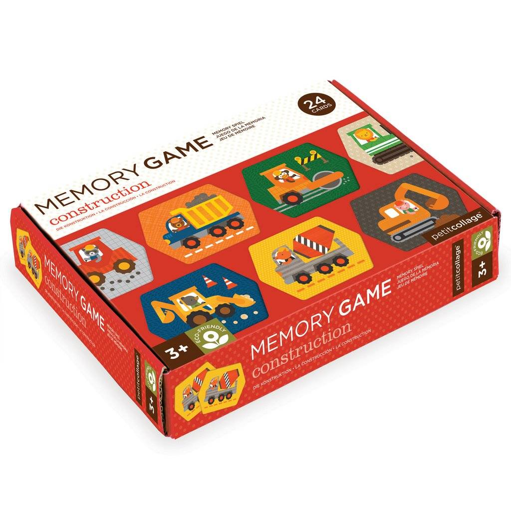 Petit Collage Memory Game - Construction