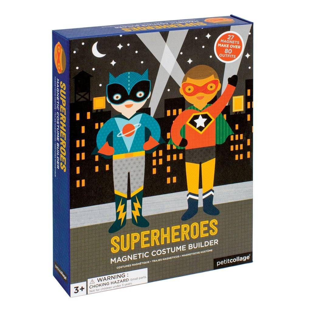 Wild & Wolf Magnetic Dress Up- Superheroes