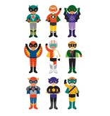 Petit Collage Magnetic Dress Up- Superheroes