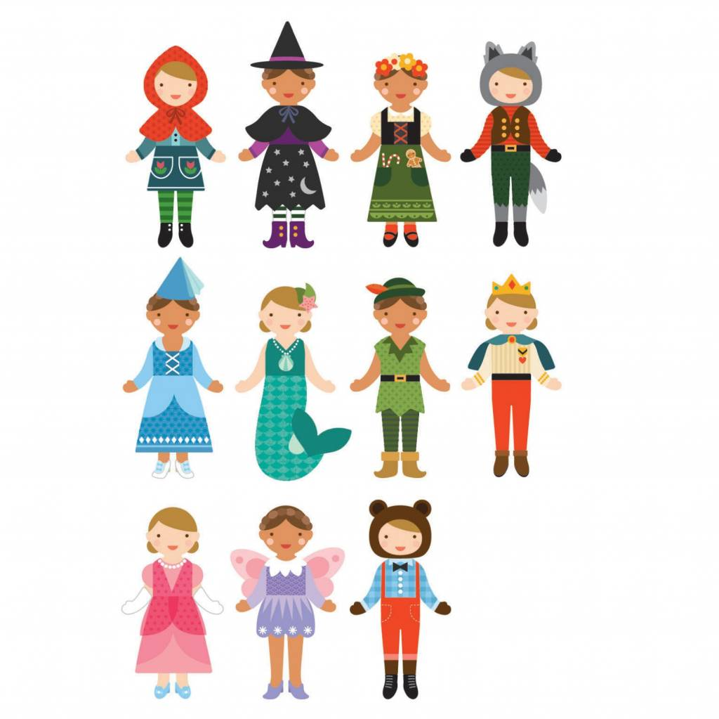 Petit Collage Magnetic Dress Up- Fairy Tales