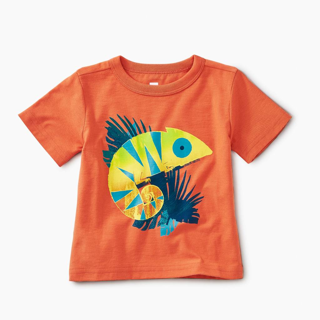 Tea Collection Chameleon Baby Tee