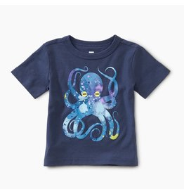 Tea Collection Pop Octopus Baby Tee