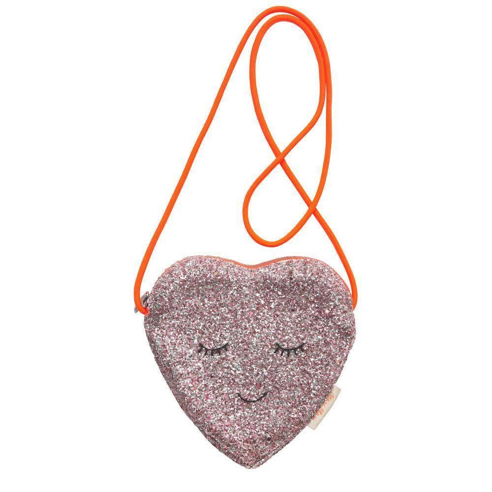 Meri Meri Glitter Heart Bag