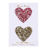 Meri Meri Glitter Heart Patches