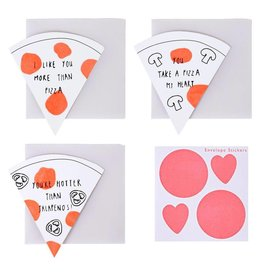 Meri Meri Pizza Note Cards