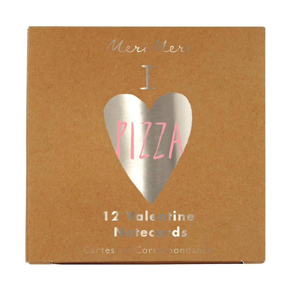 Meri Meri Pizza Note Cards