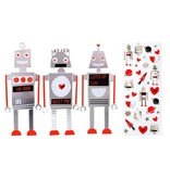 Meri Meri Robot Note Cards