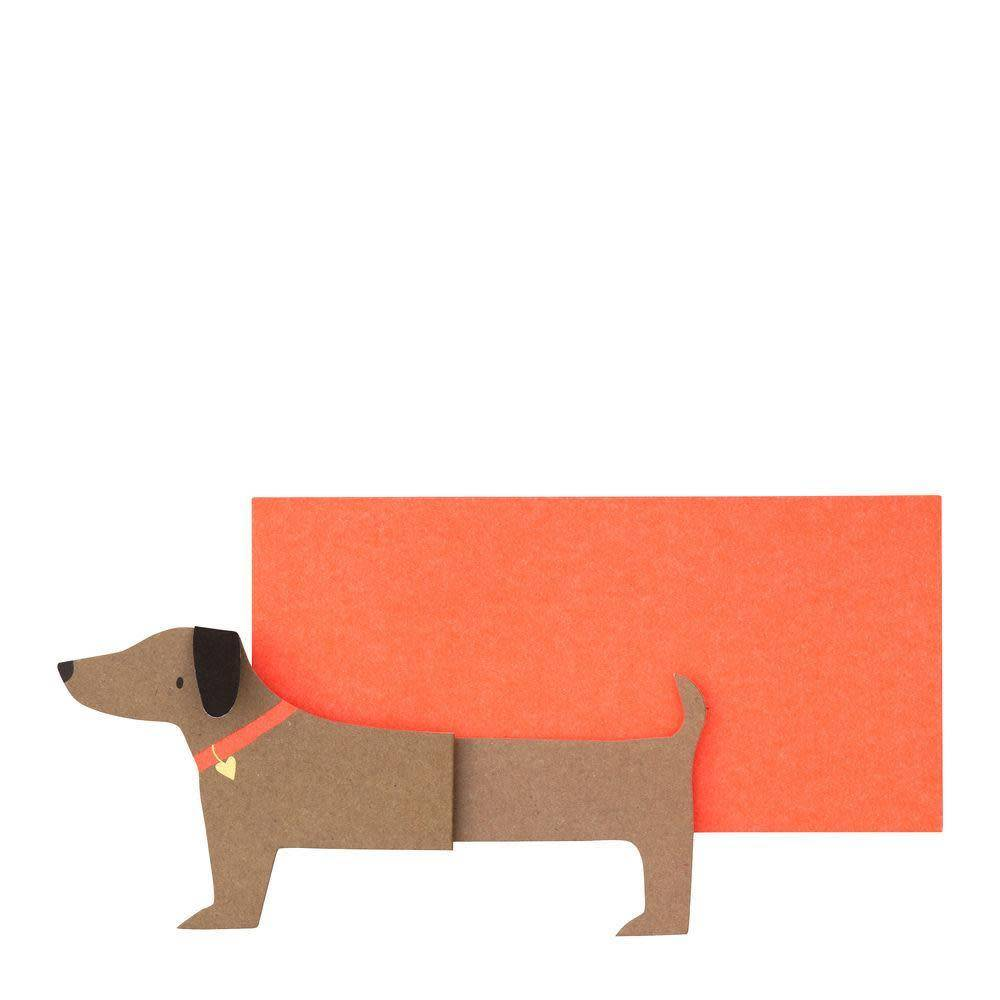 Meri Meri Sausage Dog Note Cards