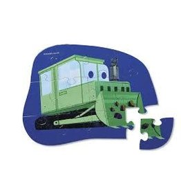 Crocodile Creek Little Bulldozer Mini Puzzle 12 pc