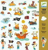 Djeco (Hotaling Imports) Stickers - Pirates