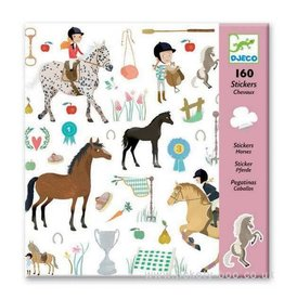 Djeco (Hotaling Imports) Stickers - Horses