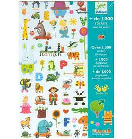 Djeco (Hotaling Imports) 1000 Stickers for Little Ones